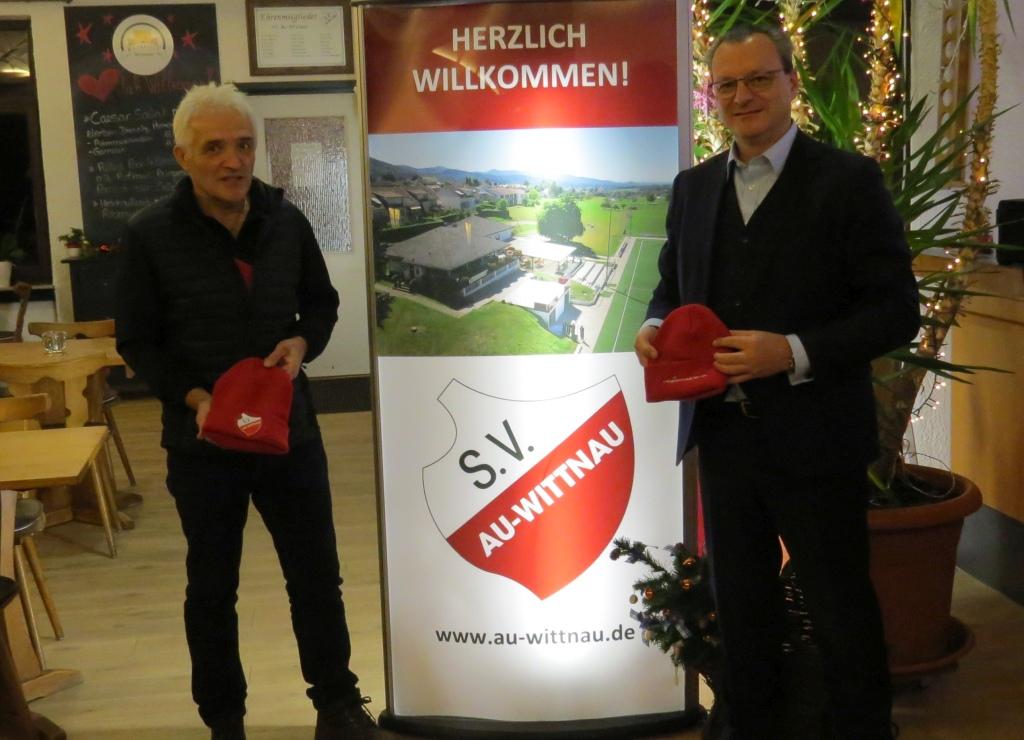 Einmal mehr hat Stefan Weißhaar unsere Jugendabteilung unterstützt